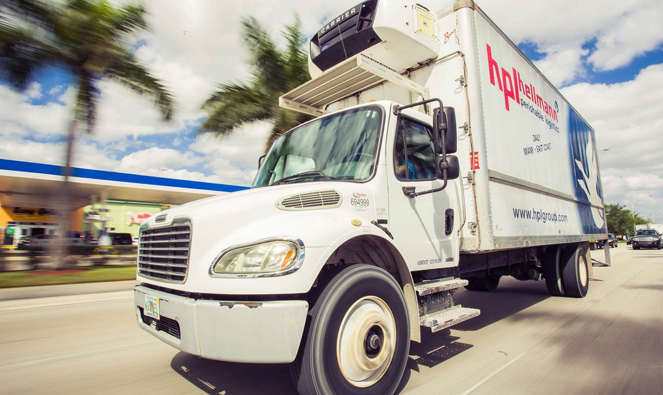 HPL Perishable Logistics Truck Miami